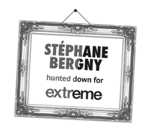Stéphane Bergny hunted down for extreme