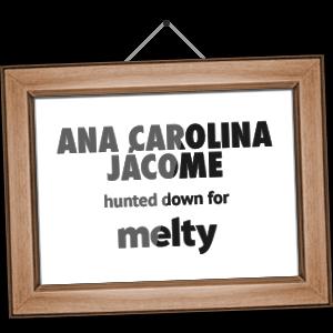 Ana Carolina Jácome hunted down for melty