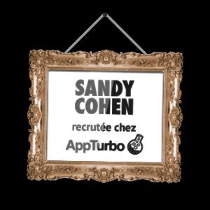 Sandy Cohen recrutée chez AppTurbo