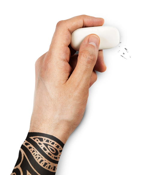 Main gauche d'un des Chasseurs de Têtes - Le Cabinet de Recrutement Mushroom