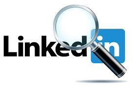 Logo Linkedin avec une loupe - Mushroom / Cabinet de recrutement / Chasseurs de têtes