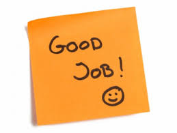 Post it avec écrit : good job ! - Recruteurs 3.0 - Mushroom - Recruteurs - Chasseurs de têtes