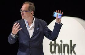 Peter Hinssen lors d'une conférenge google / Mushroom, chasseurs de têtes, cabinet de recrutement, digital, web, innovation, start up