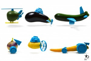 Légumes transfromés en jouets - Mushroom - Cabinet de recrutement - Chasseurs de têtes - Communication, Marketing, Digital, Start Up, web