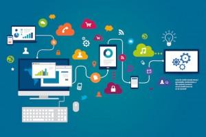 Photo d'un réseaux d'ordinateurs - smart data - Mushroom - Chasseur de tête, chasseurs de têtes, cabinet de recrutement, communication, marketing, digital, start up